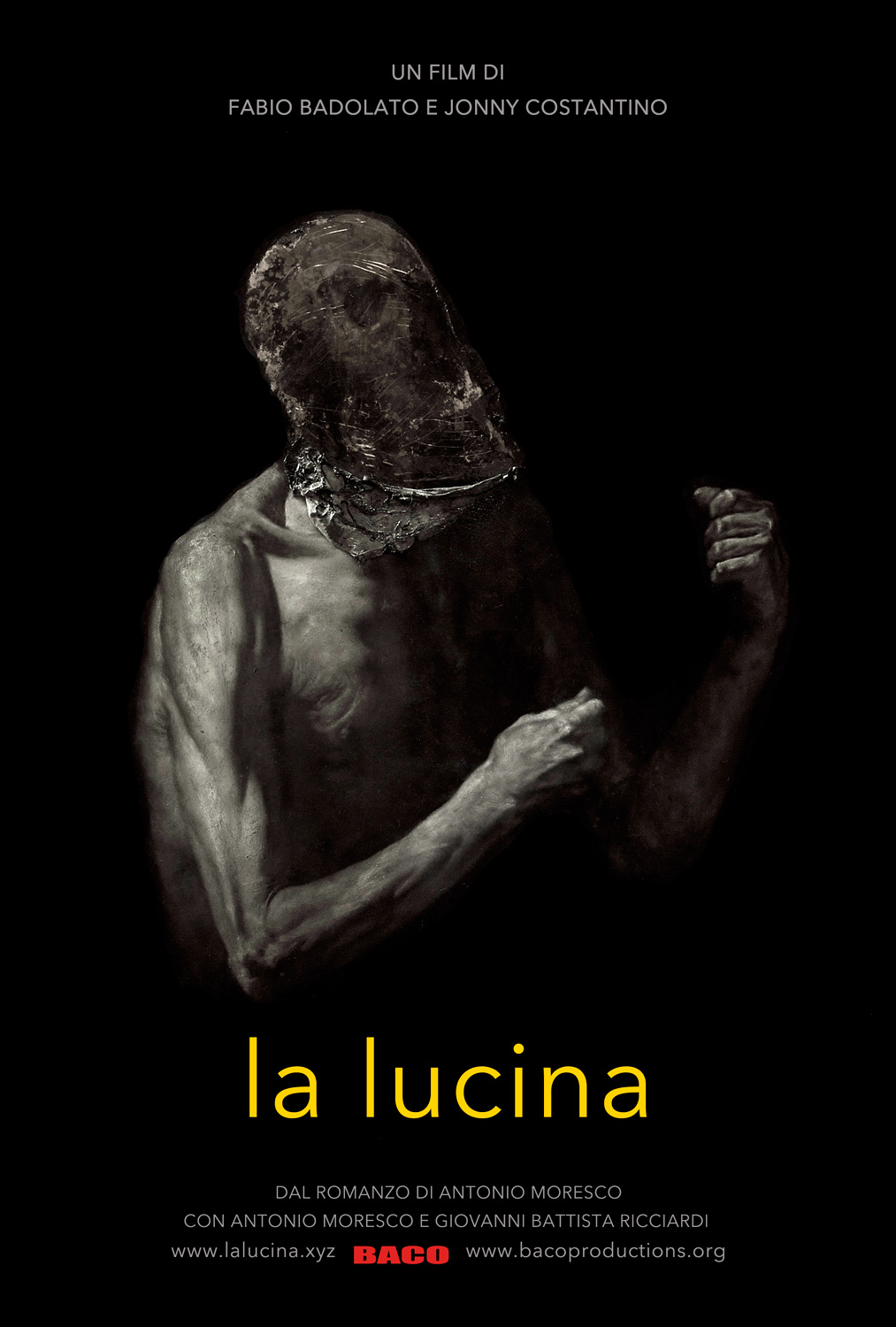 La lucina a film by Fabio Badolato and Jonny Costantino. Starring Antonio Morescco. From a painting of Nicola Samori