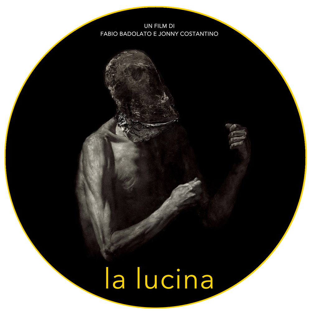 La lucina poster from a painting by Nicola Samorì. A film by Fabio Badolato and Jonny Costantino. Starring Antonio Morescco.